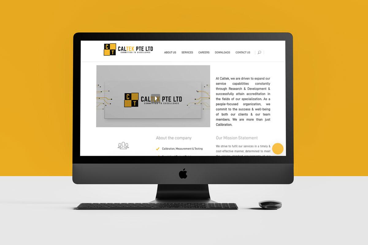 Caltek Diseño web Barcelona