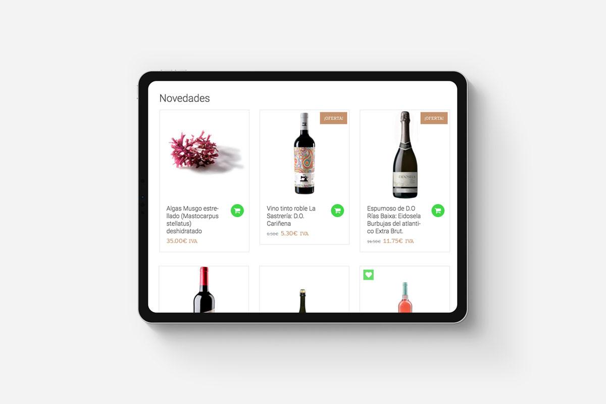 Casa Bodega diseño ecommerce tienda online