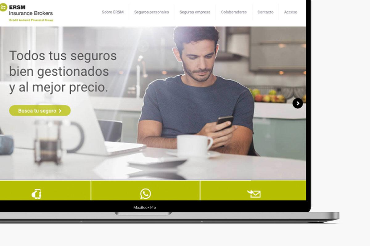 ERSM Diseño web